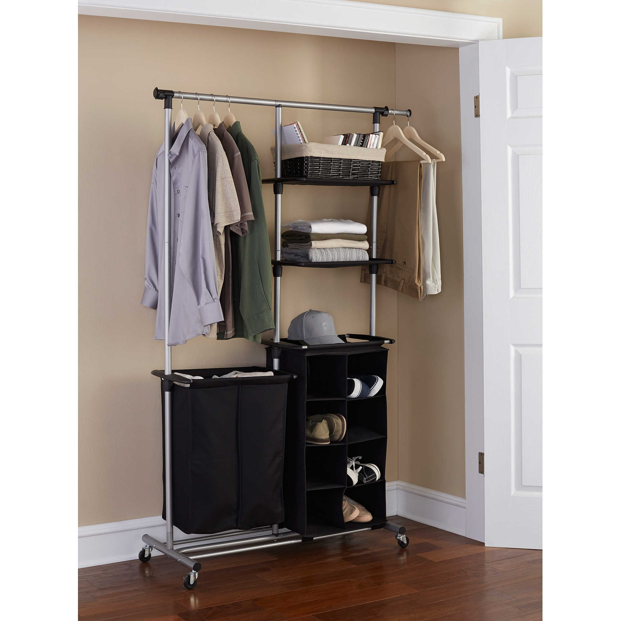 hall solutions atlanta full closet concept organization size wayne custom storage and of system fort pictures wardrobe cozy cozyset freestanding andage