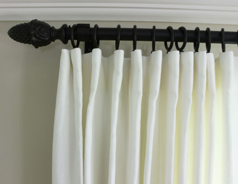 Oil Rubbed Bronze Drapery Rods | Bronze Curtain Rods | 3 Curtain Rods