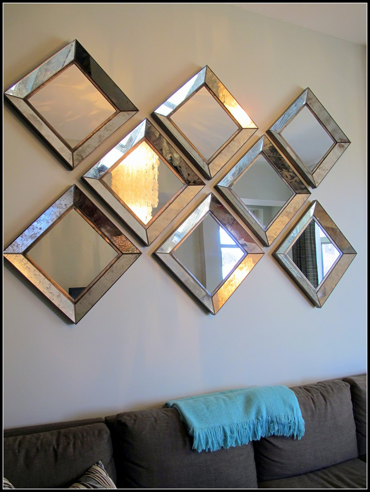 Parsons Floor Mirror | Oblong Wall Mirrors | Crate and Barrel Mirrors