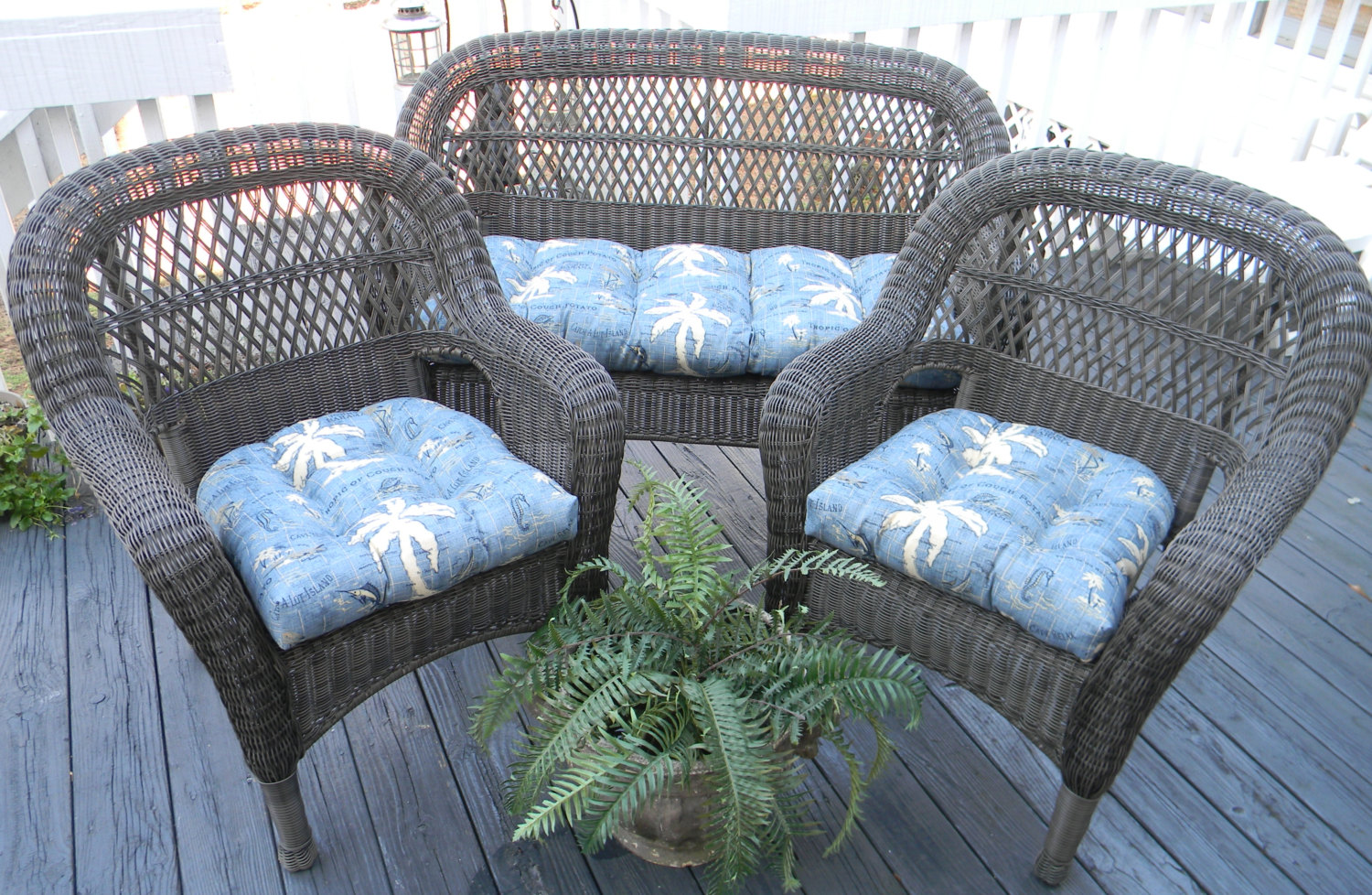 Pier One Patio | Pier One Wicker Furniture | Wicker Chair Cushion
