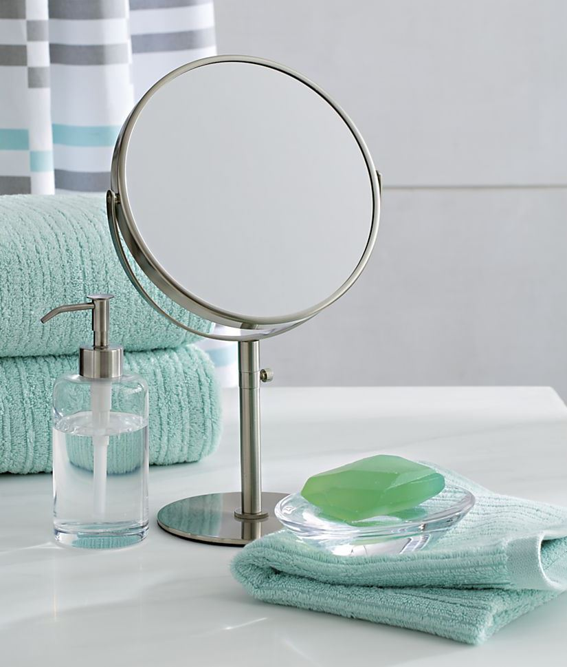 Pivot Bathroom Mirrors | Cb2 Infinity Mirror | Crate and Barrel Mirrors