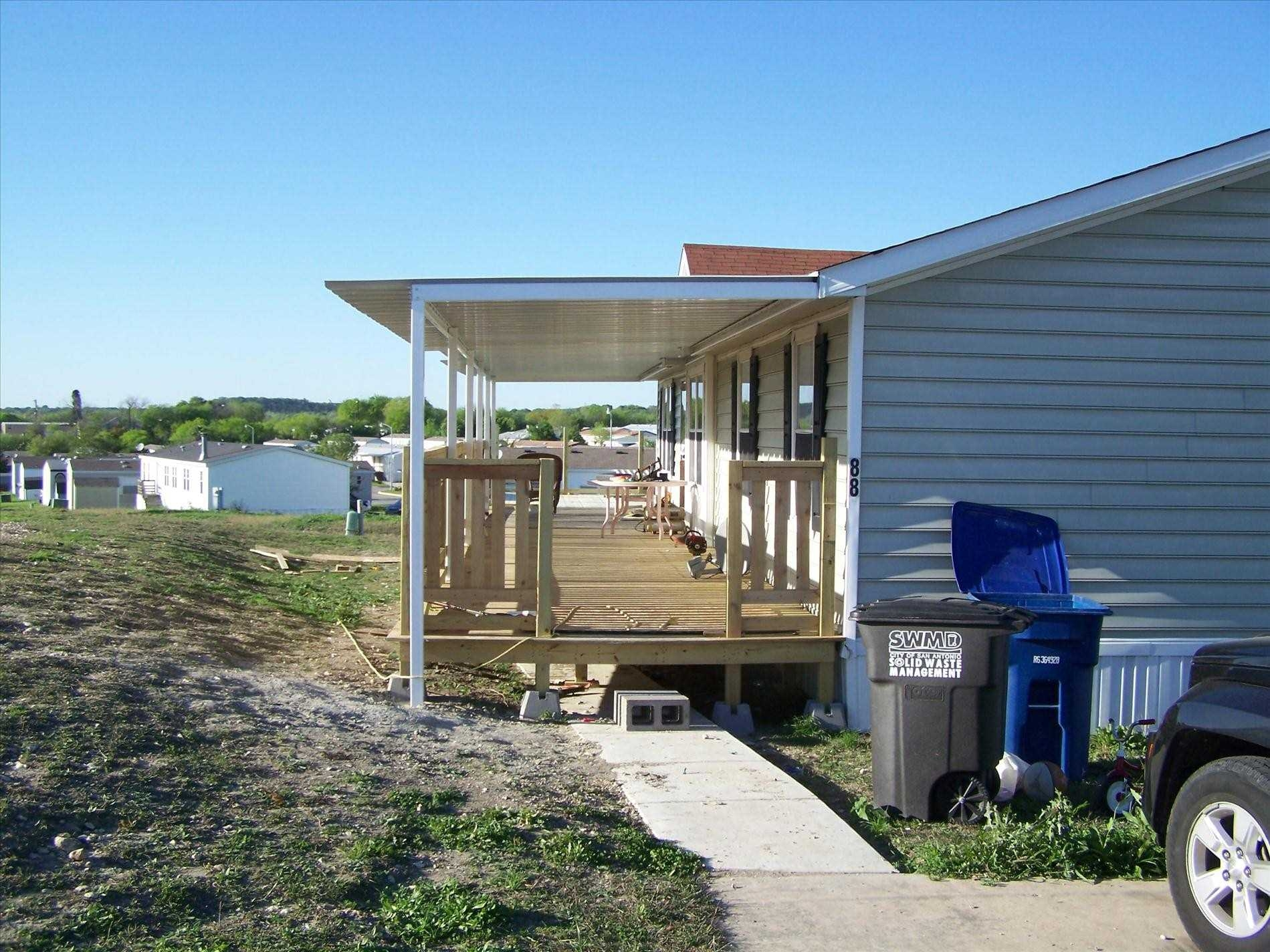 Porch Designs for Mobile Homes | Porch Ideas for Mobile Homes | Mobile Home Porches