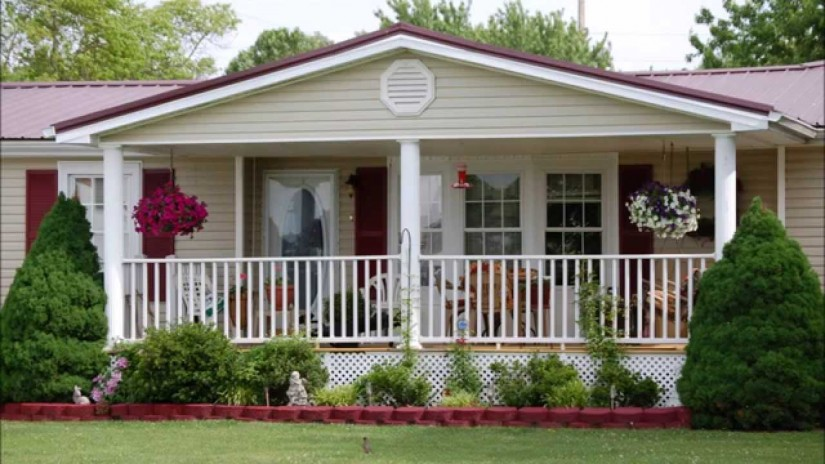 Porches And Decks For Mobile Homes | Mobile Home Porches | Screened In Porch Ideas For Mobile Homes
