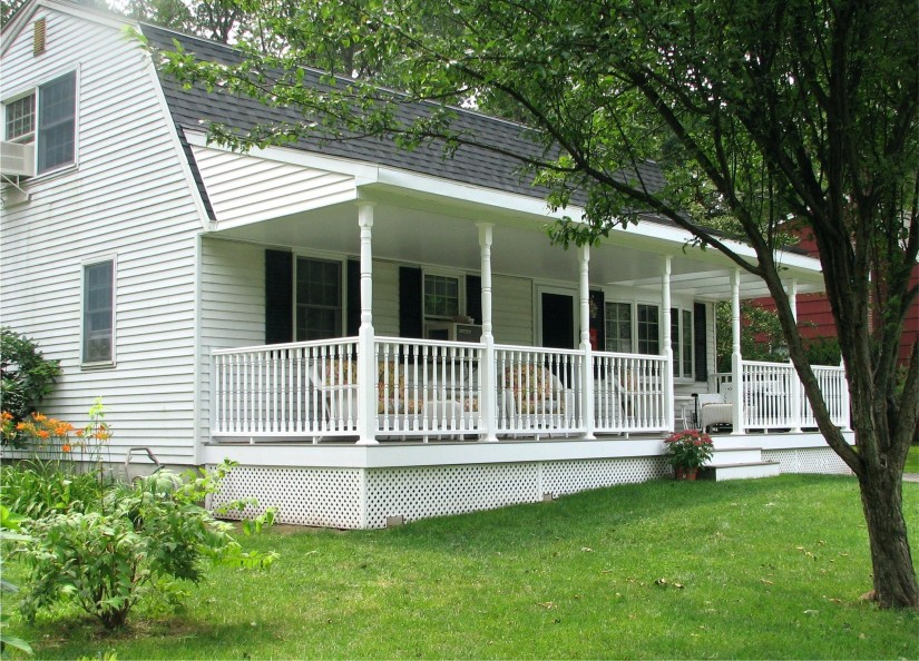 Porches For Mobile Homes | Mobile Home Porches | Front Porches For Double Wides