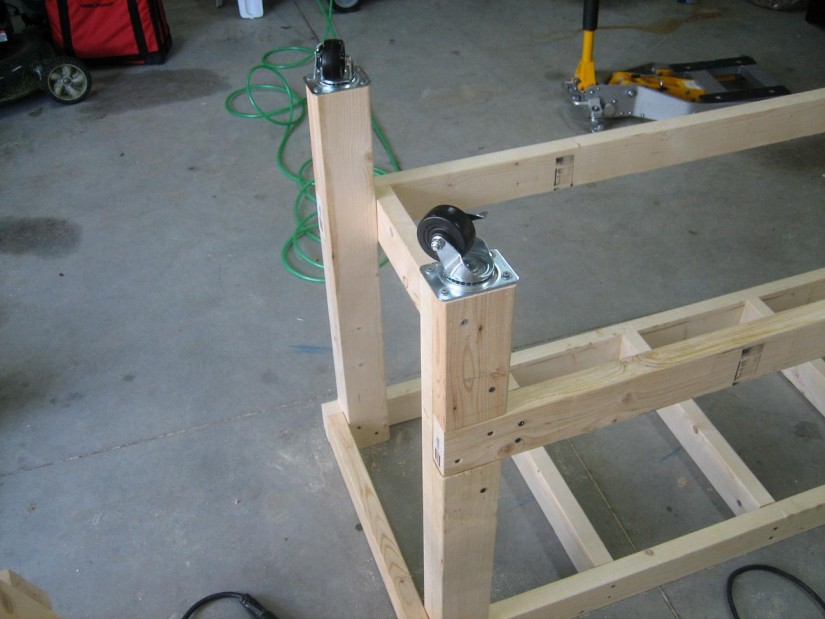 Portable Workbench On Wheels | Legs For Workbench | Work Bench Legs