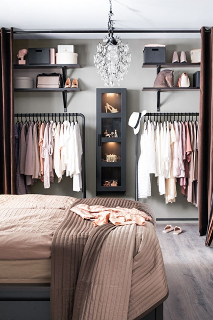 Inspiring Interior Storage Design Ideas with Diy Walk in Closet: Prefab Closet Kits | Pre Made Closets | Diy Walk In Closet