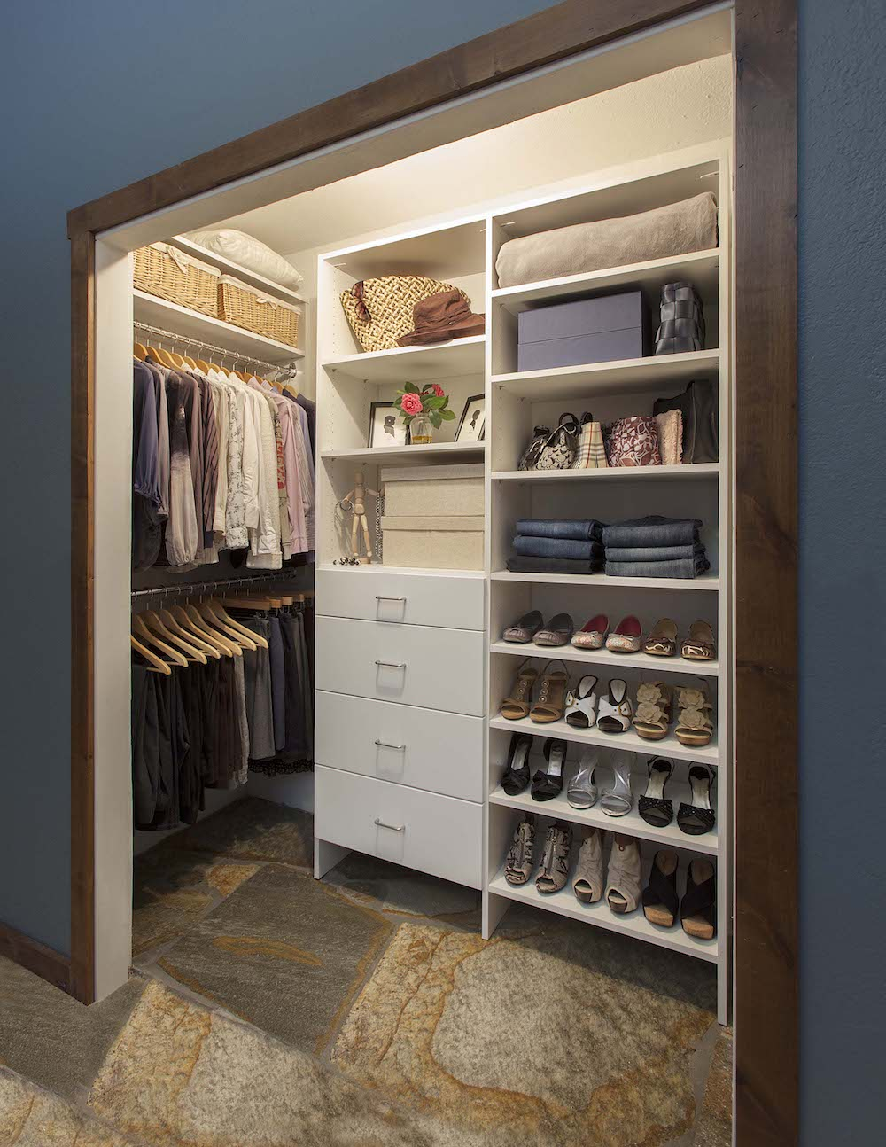 Prefab Closet Systems | Diy Walk in Closet | Walk in Closet Shelving Ideas