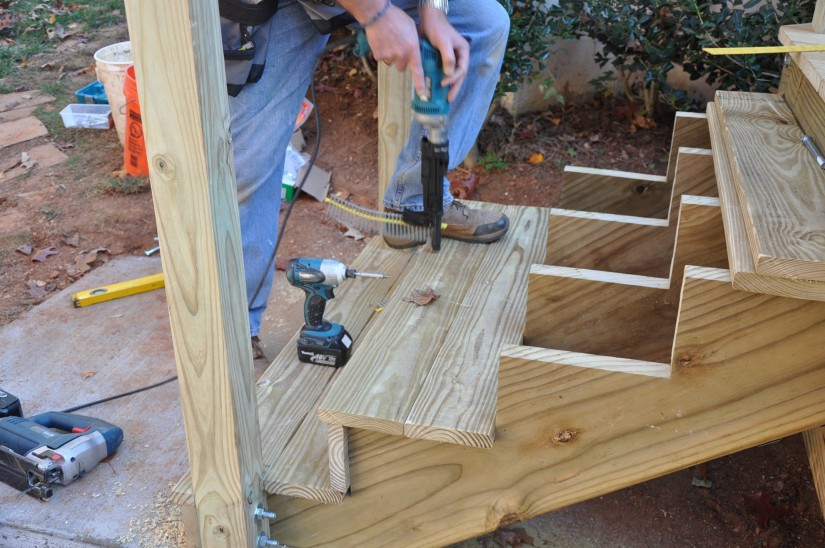 Prefab Deck Stairs | Two Step Stringer | Build Deck Stairs