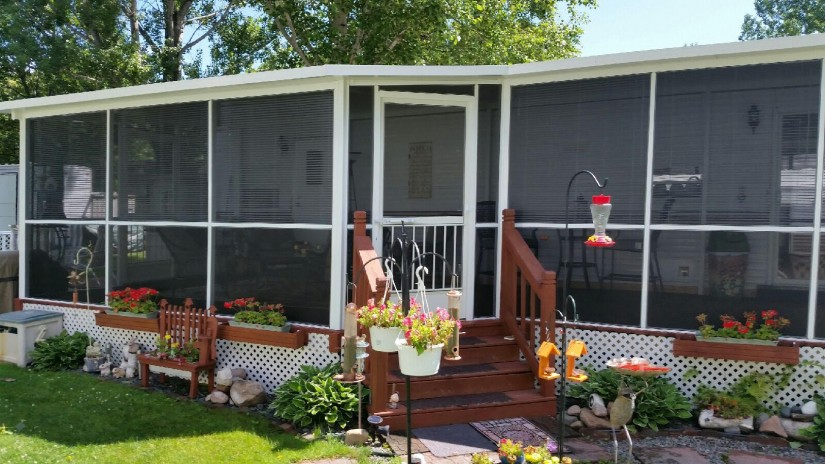 Ready Made Porches | Front Porch Ideas For Mobile Homes | Mobile Home Porches