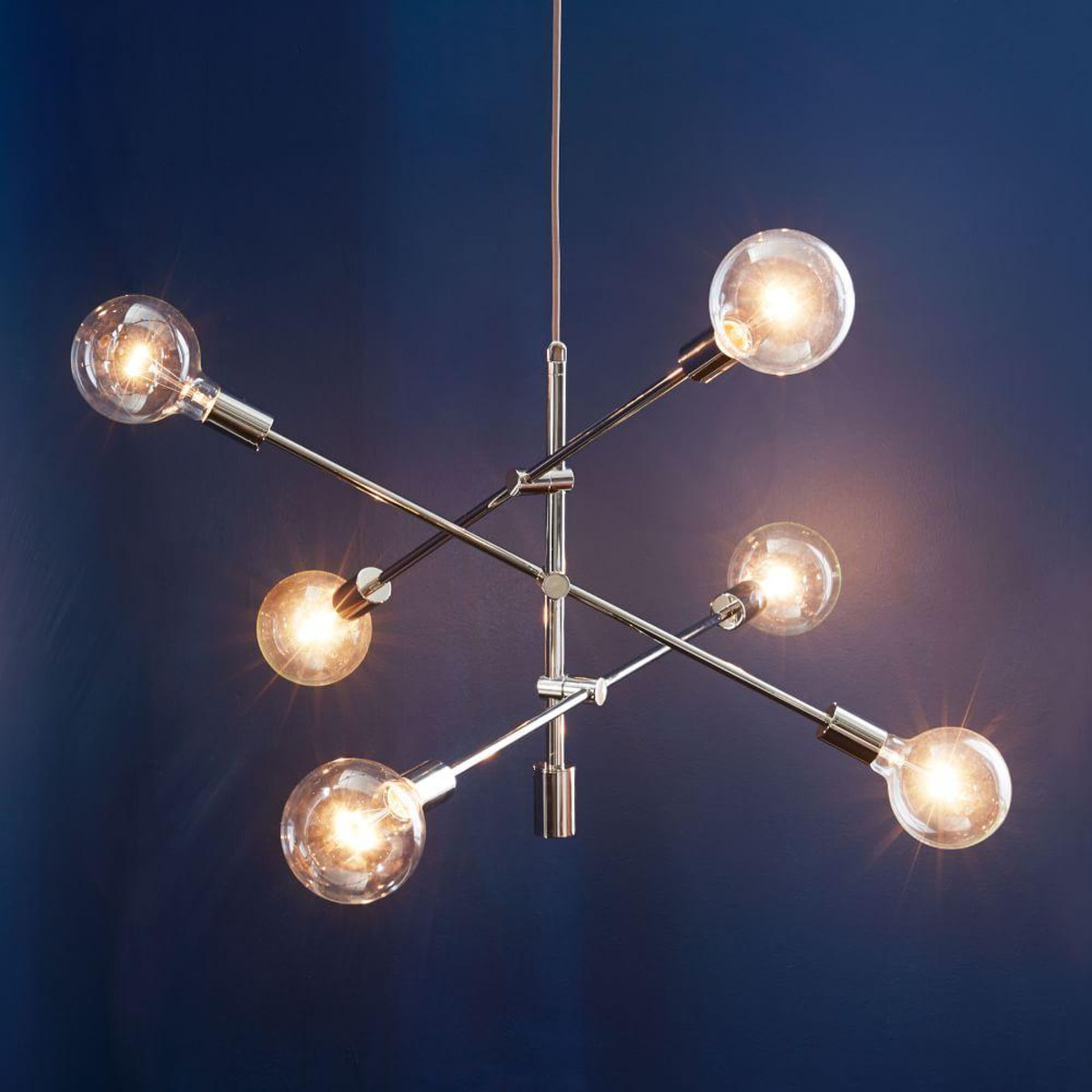 Rectangular Capiz Chandelier | Light Fixtures Pottery Barn | West Elm Chandelier