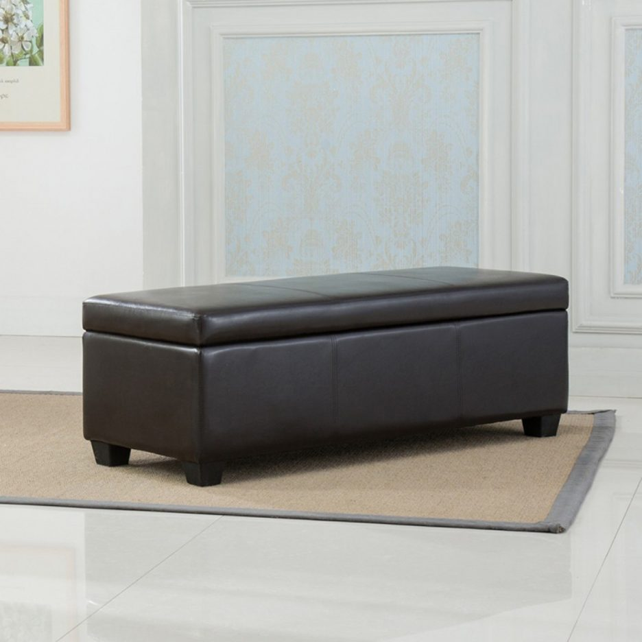 Extra Large Ottoman for Large Space Living Room Design: Rectangular Tufted Ottoman | Circle Storage Ottoman | Extra Large Ottoman