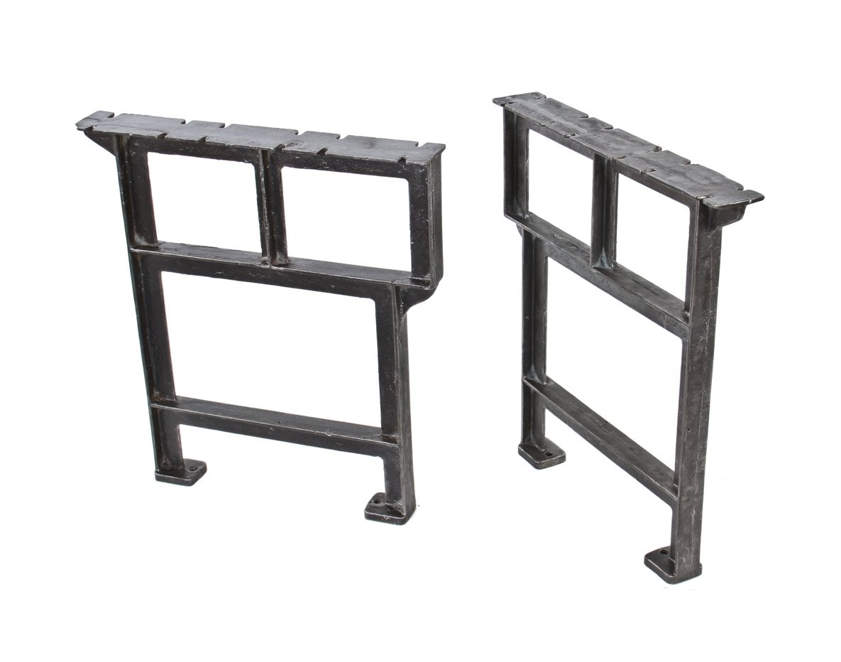 Reproduction Cast Iron Table Legs | Heavy Duty Work Benches | Work Bench Legs