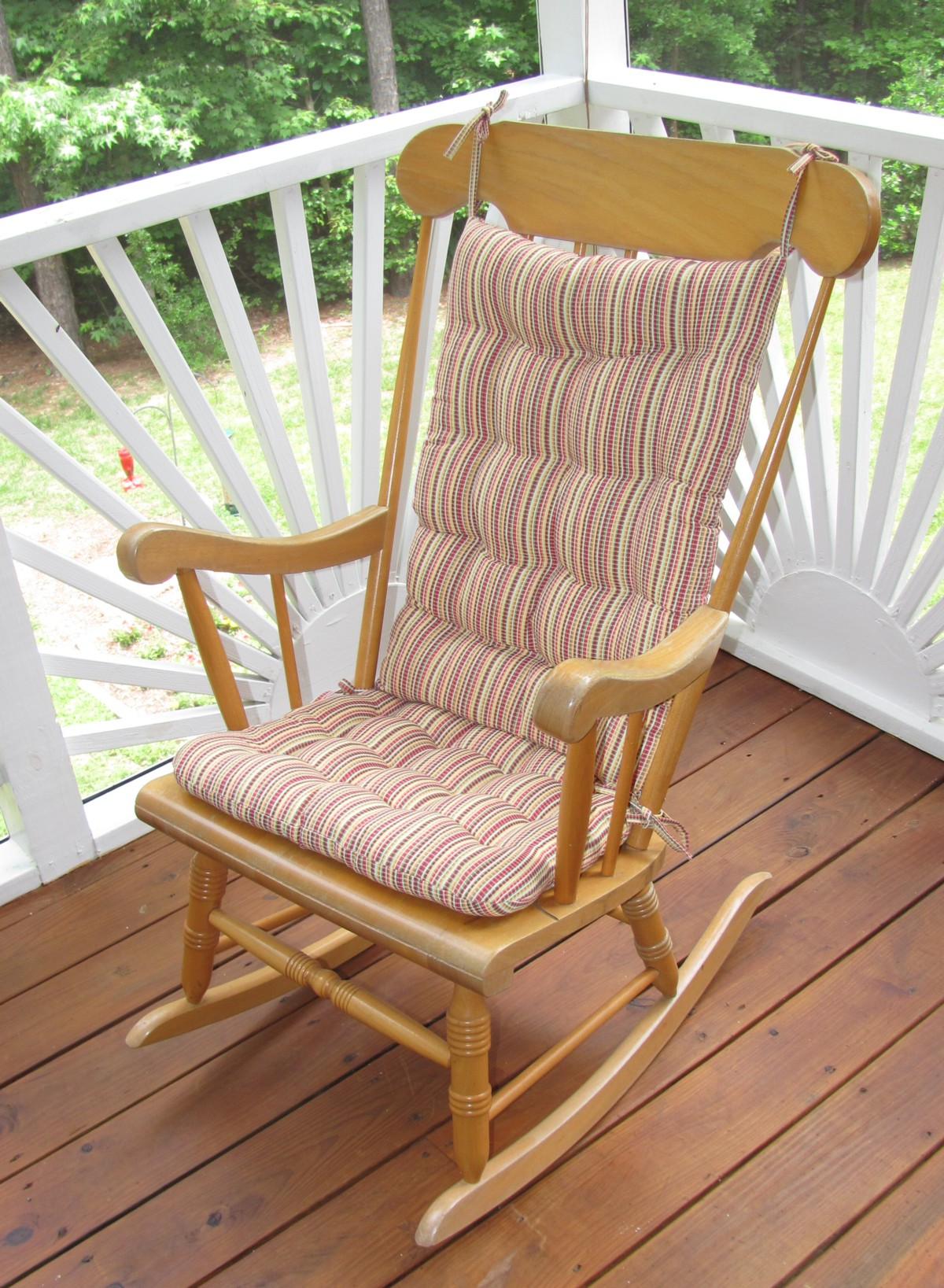 Rocking Chair Cushion | Jumbo Rocking Chair Cushions | Rocking Chairs Cushions
