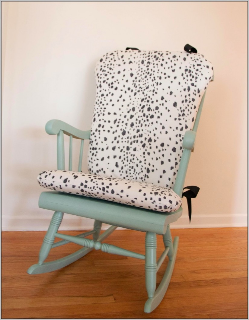 Rocking Chair Cushion | Nursery Rocking Chair Cushions | Grey Rocking Chair Cushions