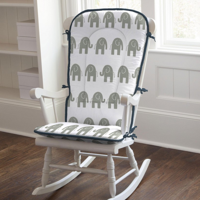 Rocking Chair Cushion | One Piece Rocking Chair Cushions | Rocking Chair Pillow