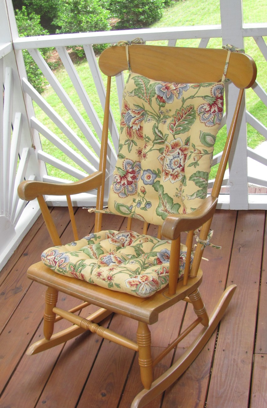Rocking Chair Cushion | Seat Cushions for Rocking Chairs | Greendale Rocking Chair Cushions