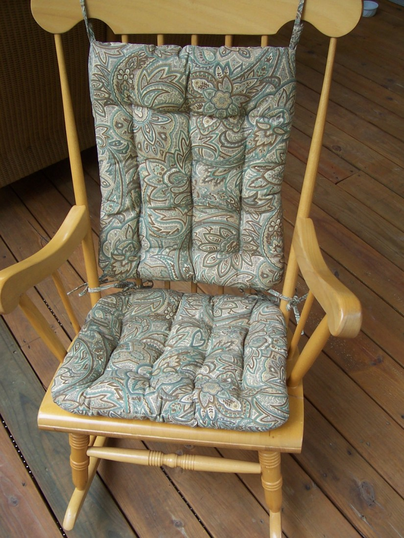 Rocking Chair Cushion | Wicker Rocking Chair Cushions | Pillows For Rocking Chairs