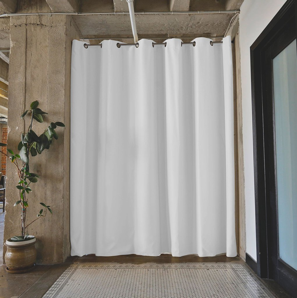 Room Divider Curtains | Curtain Rod Room Divider | Ikea Curtain Room Divider
