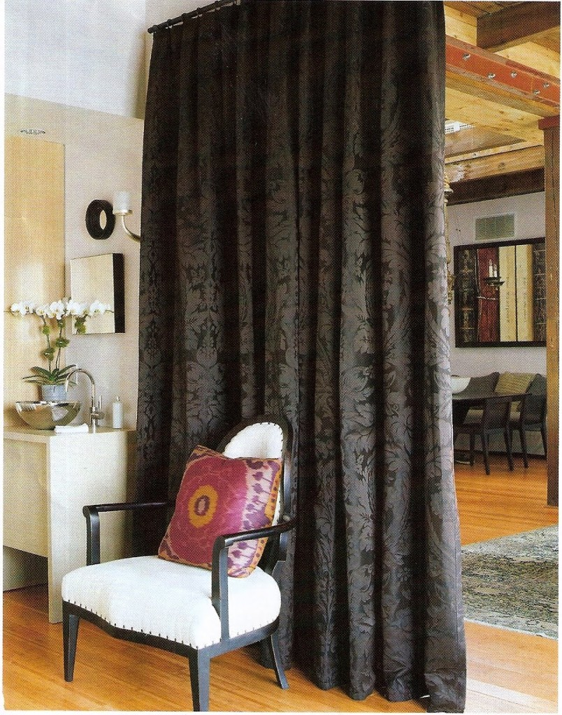 Room Divider Curtains | Curtains as Room Dividers | Ikea Curtain Panels Room Divider