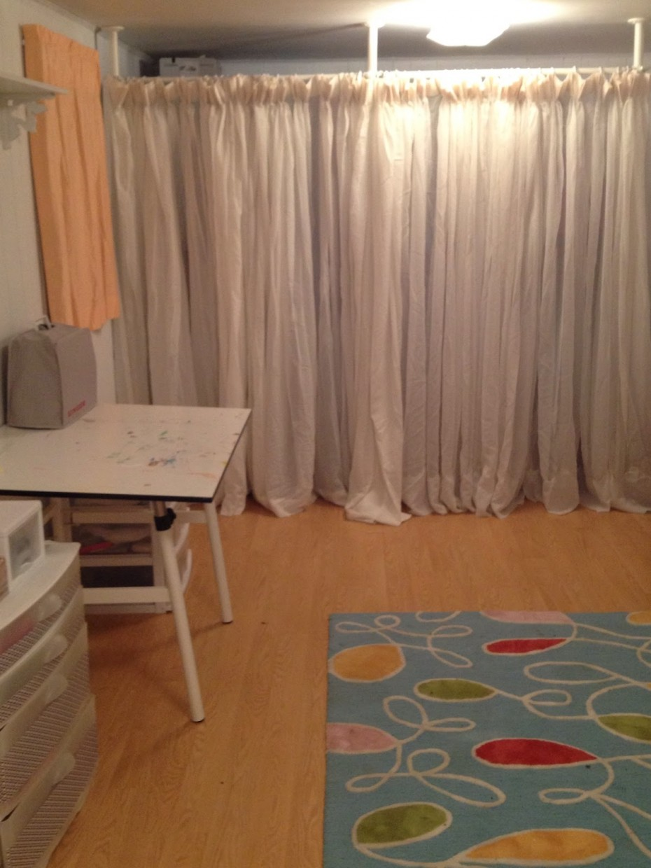 Room Divider Curtains | Hanging Curtain Room Divider Ideas | Heavy Curtain Room Divider
