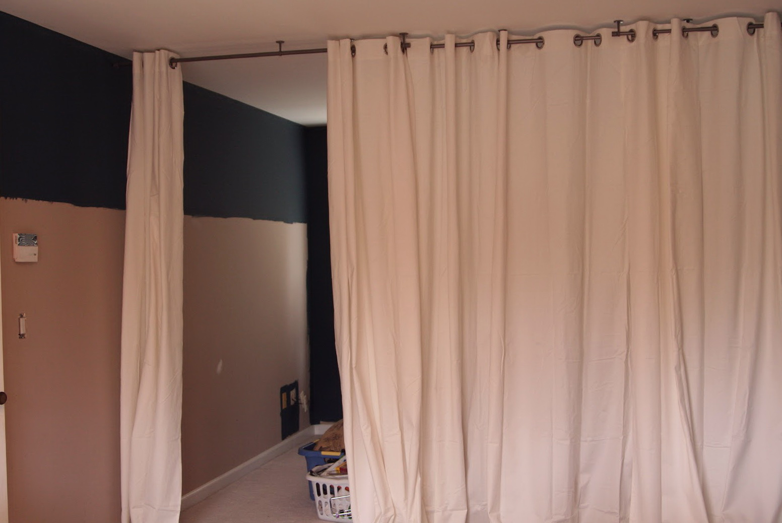 Room Divider Curtains | Hanging Curtain Room Dividers | Room Divider Curtain Walmart