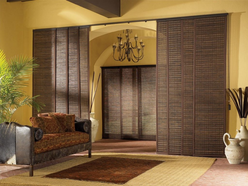 your cream wall black steel on brown soft curtains white frame interior fabric glass with and flooring laminate doors rod curtain decoration drapery door connected ceramics by completing for sliding dazzling wooden