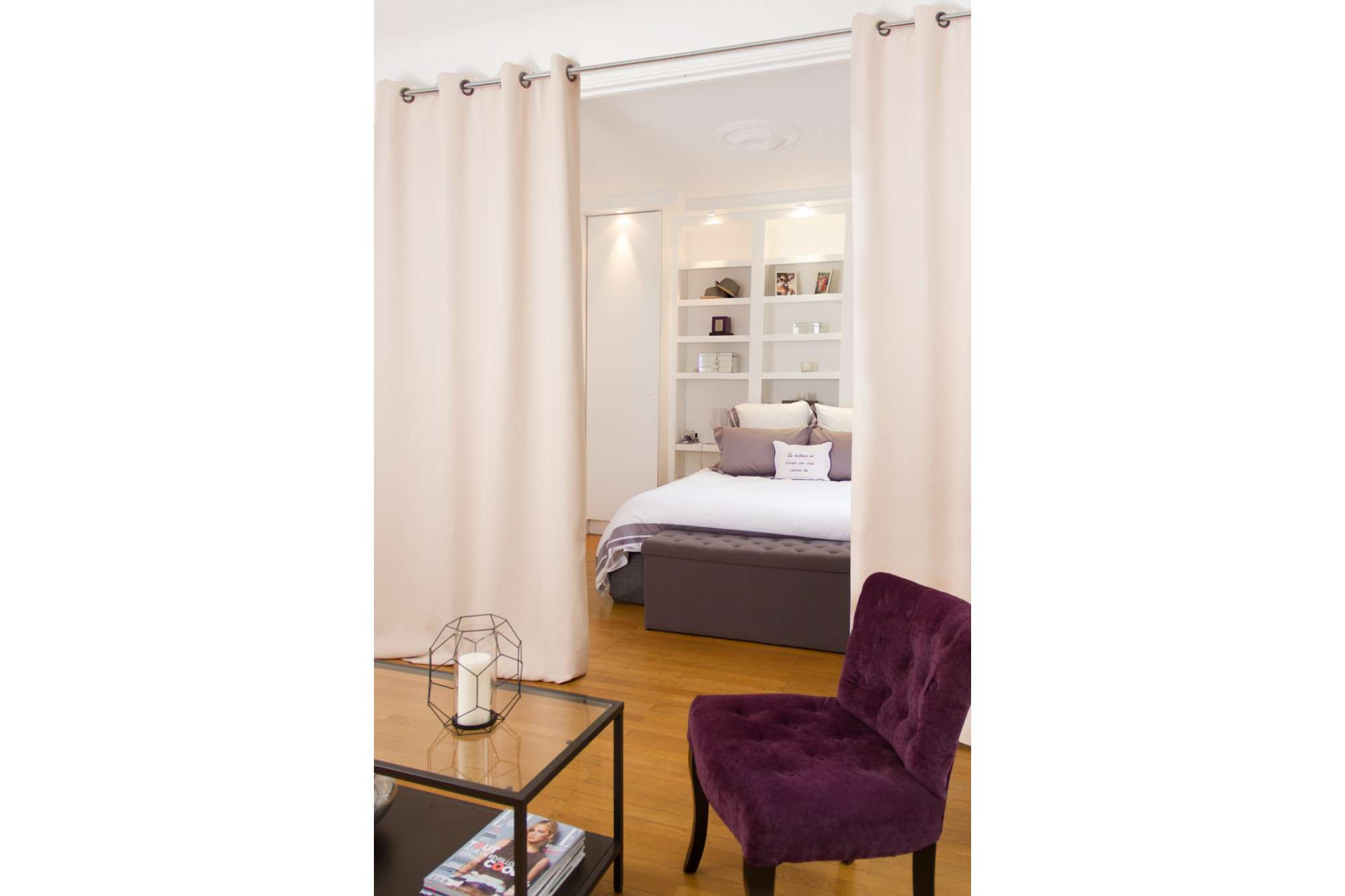 Room Divider Curtains | Room Divider Curtain Track | Room Separator Curtain
