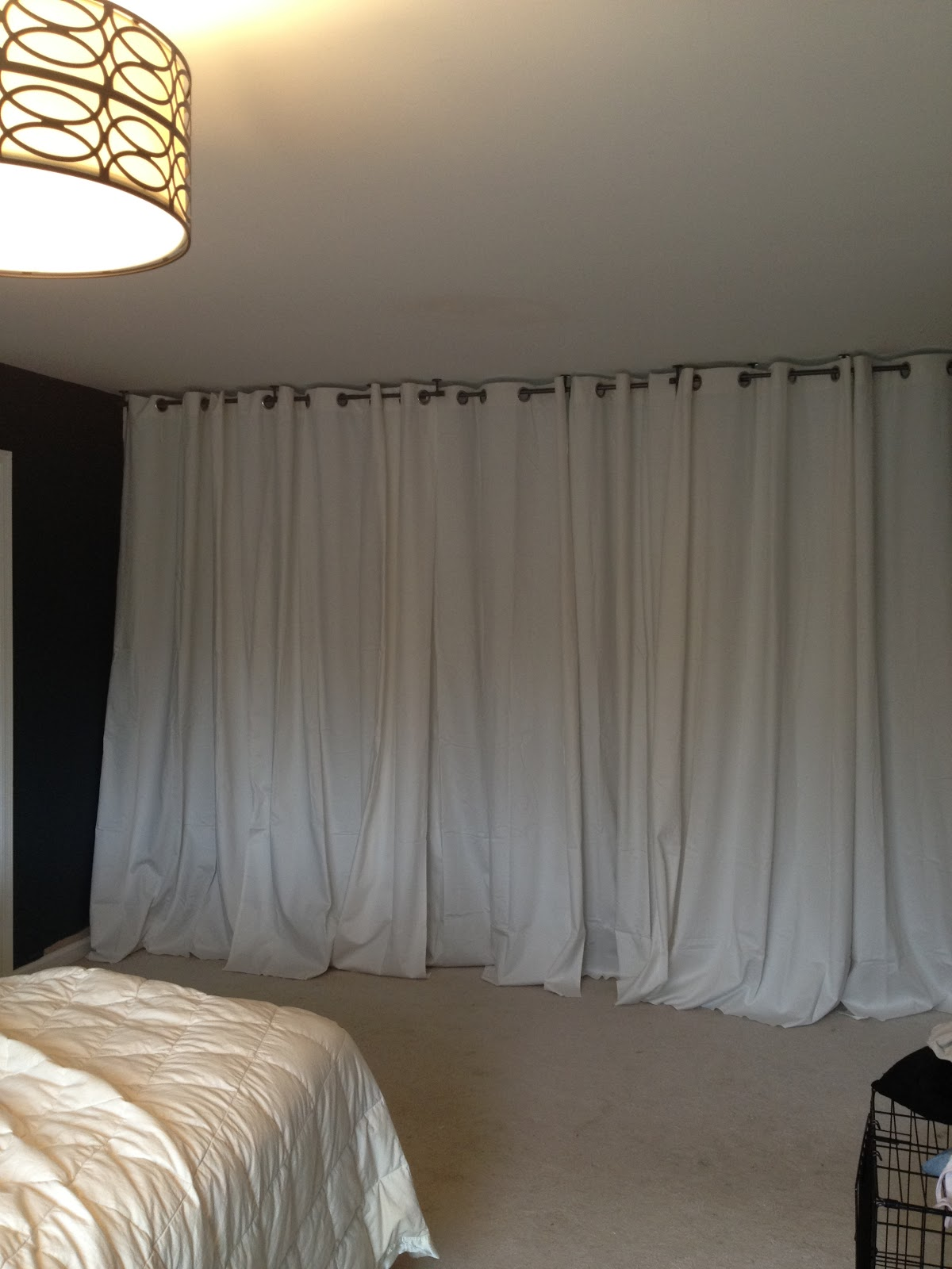 Room Divider Curtains | Using Curtains to Divide A Room | Room Divider Curtain Track