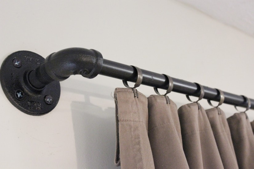 Rubbed Bronze Curtain Rod | 1 Inch Diameter Curtain Rod | Bronze Curtain Rods