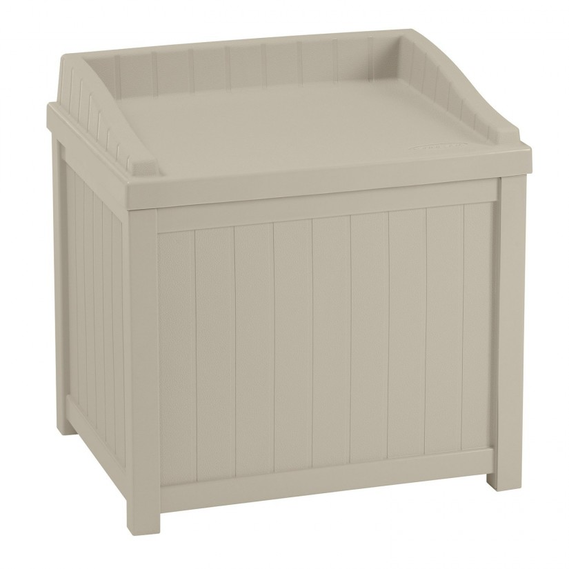 Rubbermaid Patio Chic | Suncast Deck Box Lowes | Rubbermaid Storage Bench
