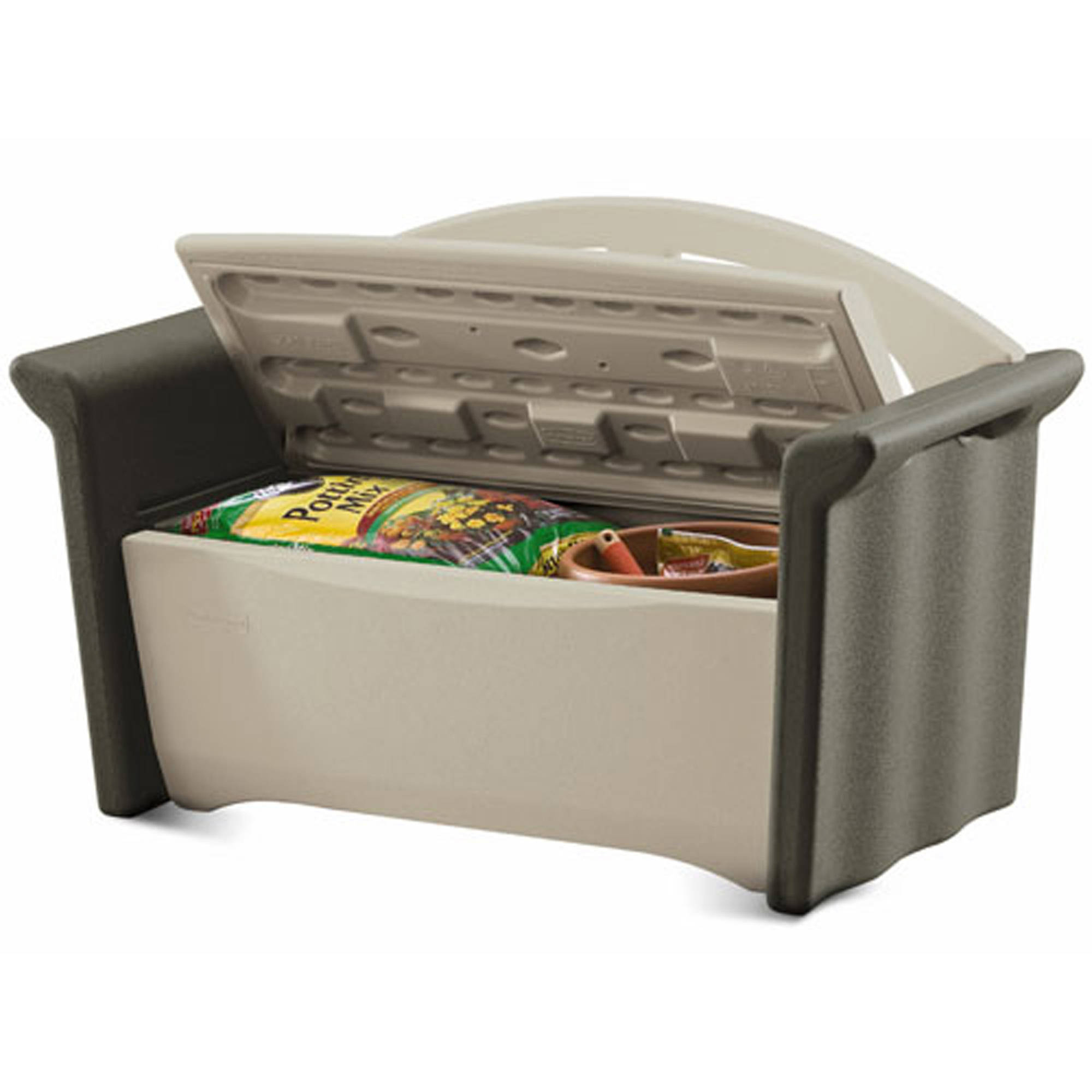 Rubbermaid Patio Storage | Rubbermaid Storage Bench | Rubbermaid Patio Storage Bench 3764