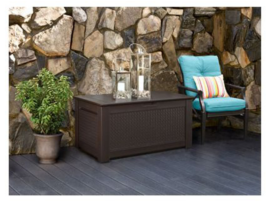 Rubbermaid Storage Bench | Deck Boxes at Lowes | Watertight Deck Box