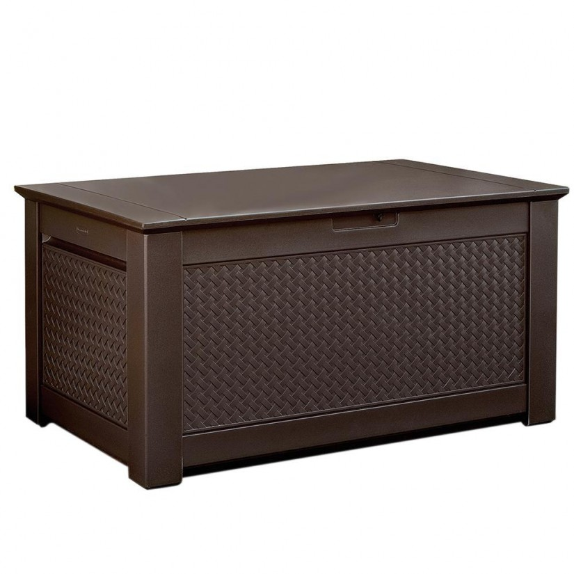 Rubbermaid Storage Bench | Extra Large Deck Box 200 Gallon | Outdoor Storage Bins