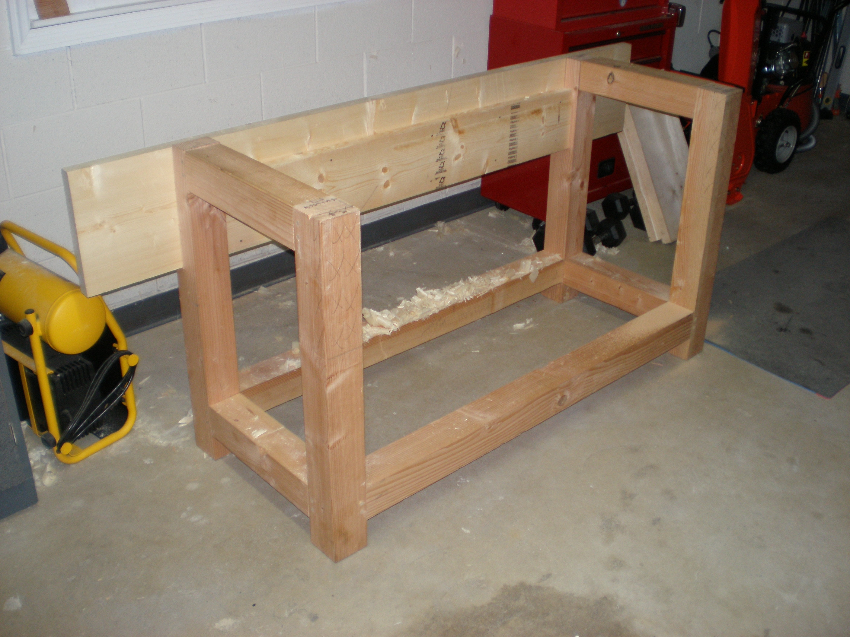 Sawhorse Legs For Table | Work Bench Legs | Craftsman Work Benches