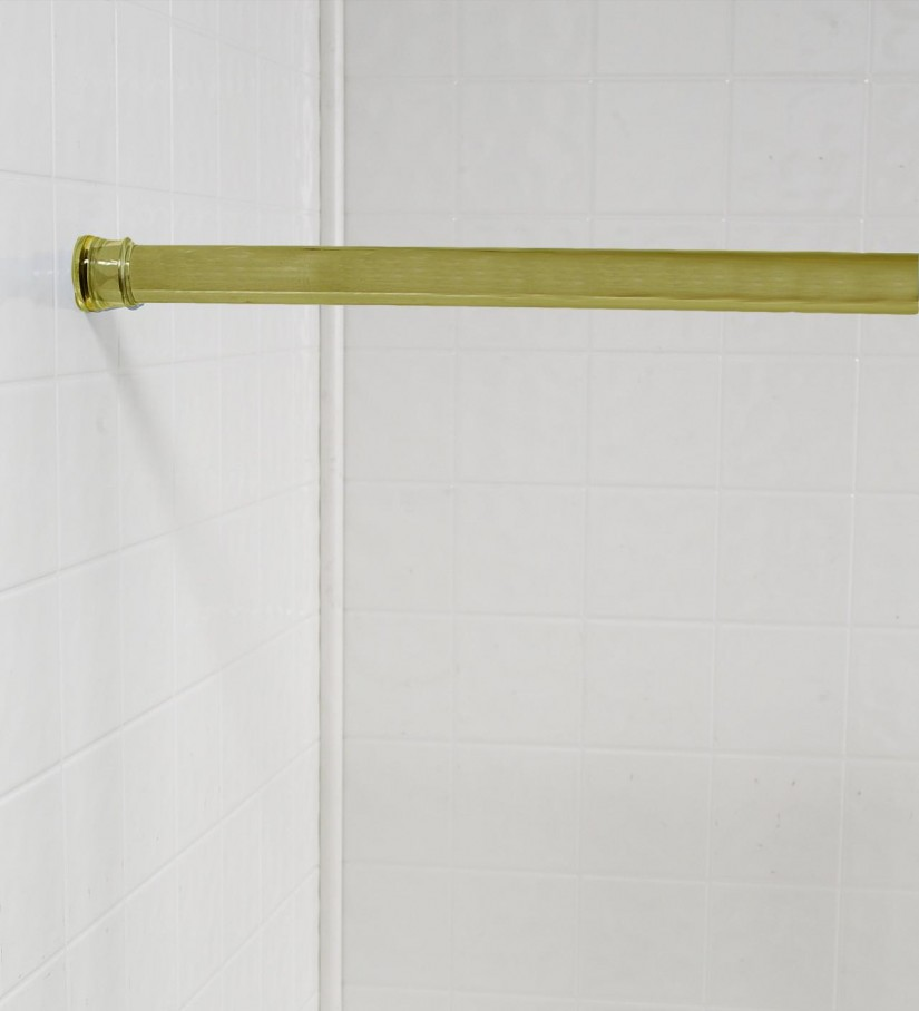Shower Curtain Tension Rod | Curved Tension Shower Curtain Rod | Curved Shower Curtain Rod Tension