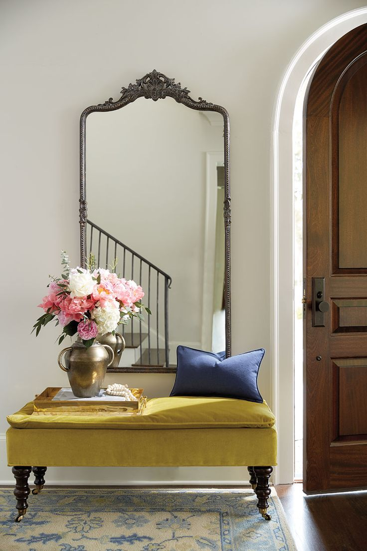 Interesting Entry Room Decor Ideas with Entryway Mirror: Small Entryway Cabinet | Decorating Ideas For Entryway Tables | Entryway Mirror