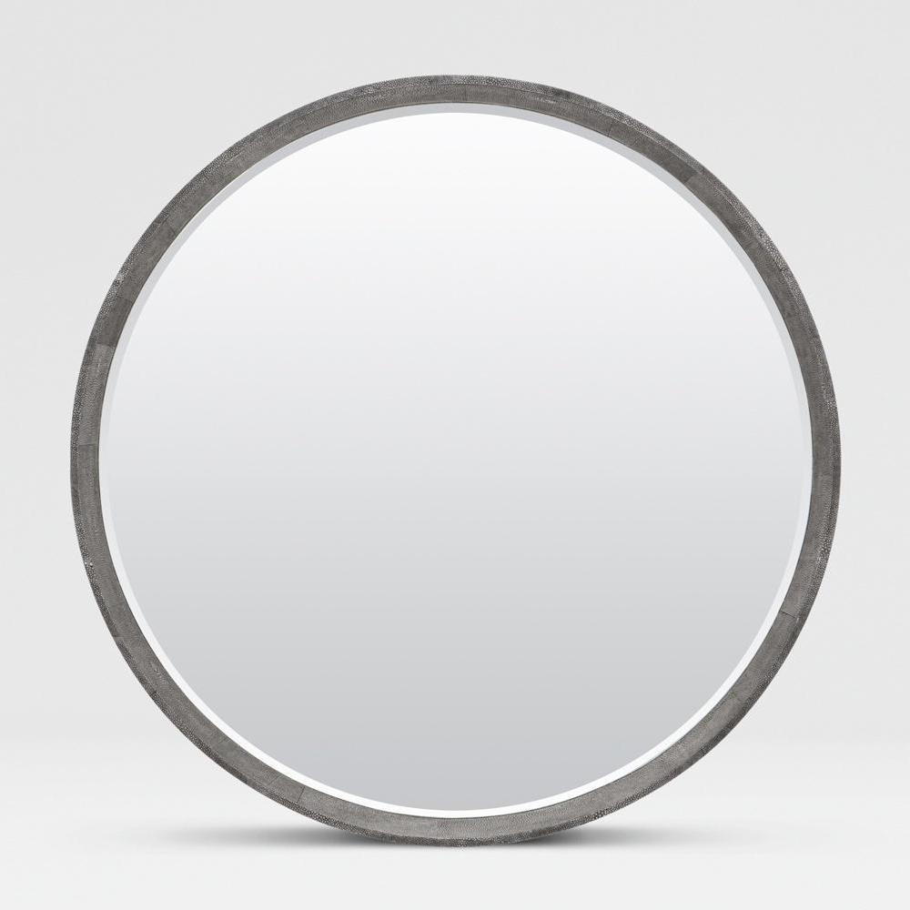 Small Round Wall Mirror | Crate and Barrel Mirrors | Frameless Floor Mirror