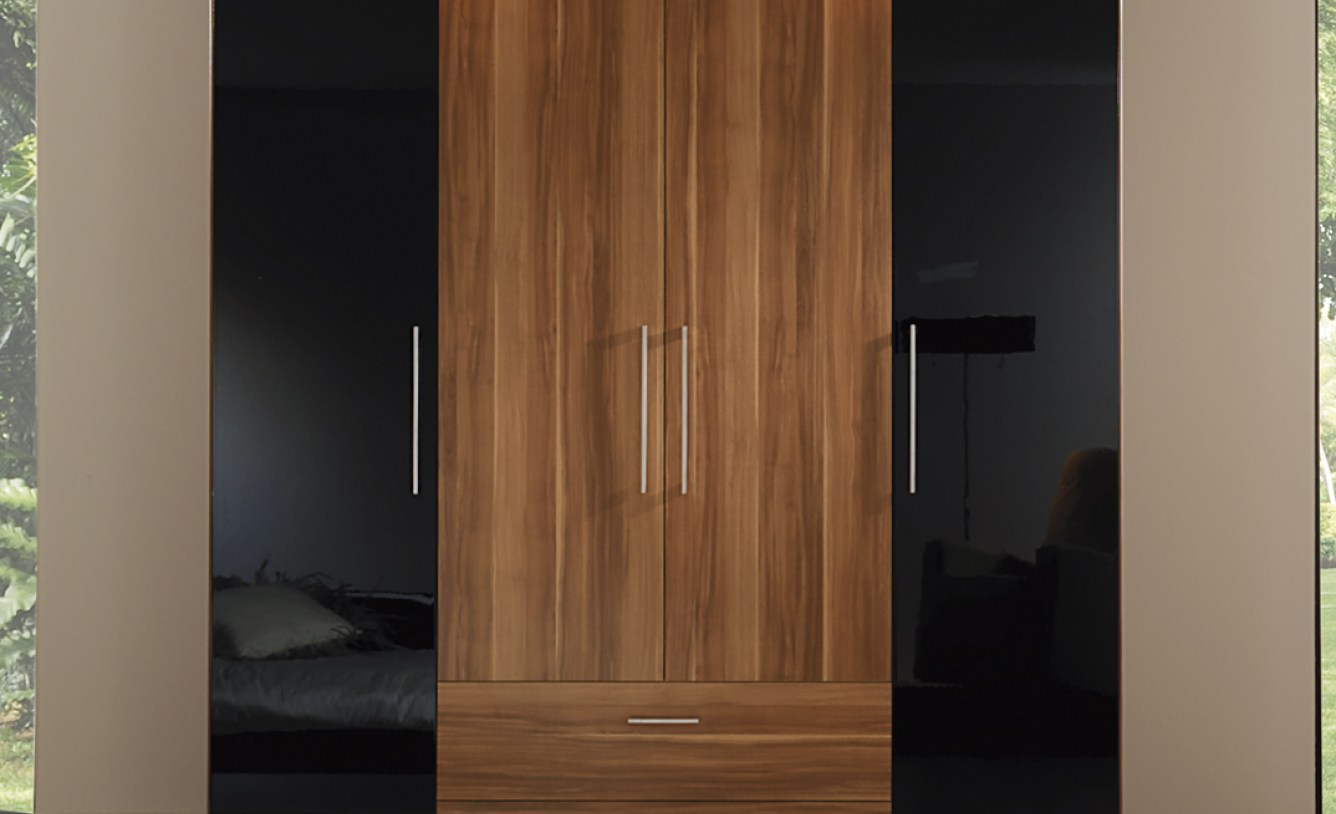 Solid Wood Wardrobe Closet | Free Standing Closet Wardrobe | Wardrobe Freestanding