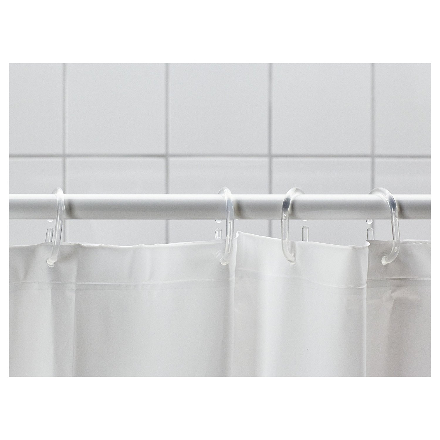 Ikea Shower Curtain for Best Your Bathroom Decoration: Spring Loaded Curtain Rod Ikea | Shower Curtain Length | Ikea Shower Curtain