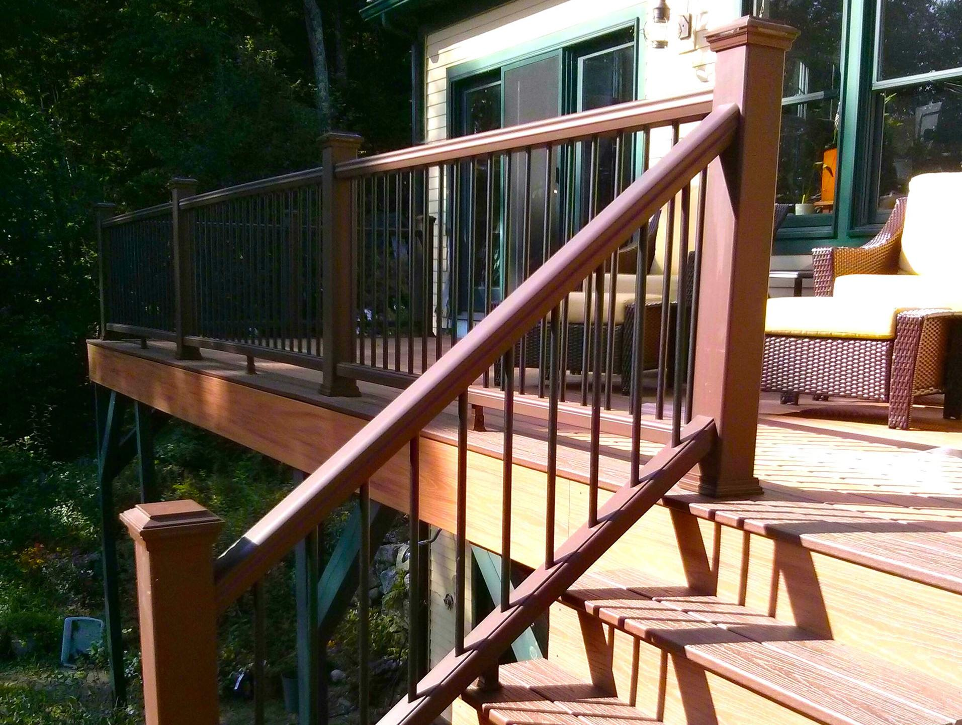 Stair Stringer Size | Build Deck Stairs | Attaching Stringers to Deck