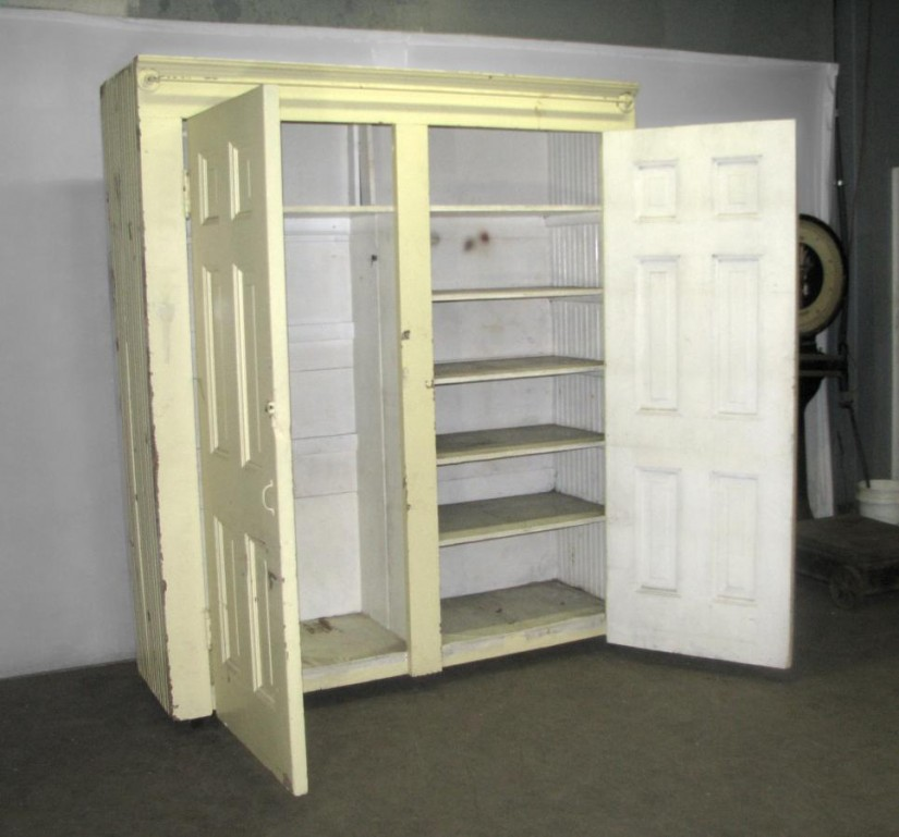 Stand Alone Wardrobe Closet | Armoire With Hanging Rod | Free Standing Closet Wardrobe