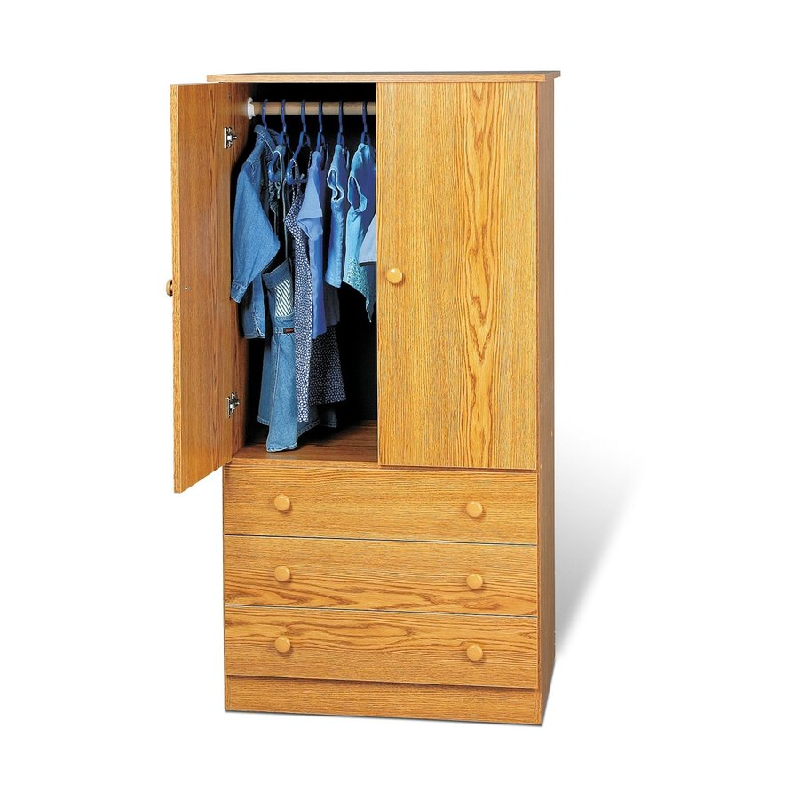 Stand Alone Wardrobes | Cheap Wardrobe Closet | Oak Armoire Dresser