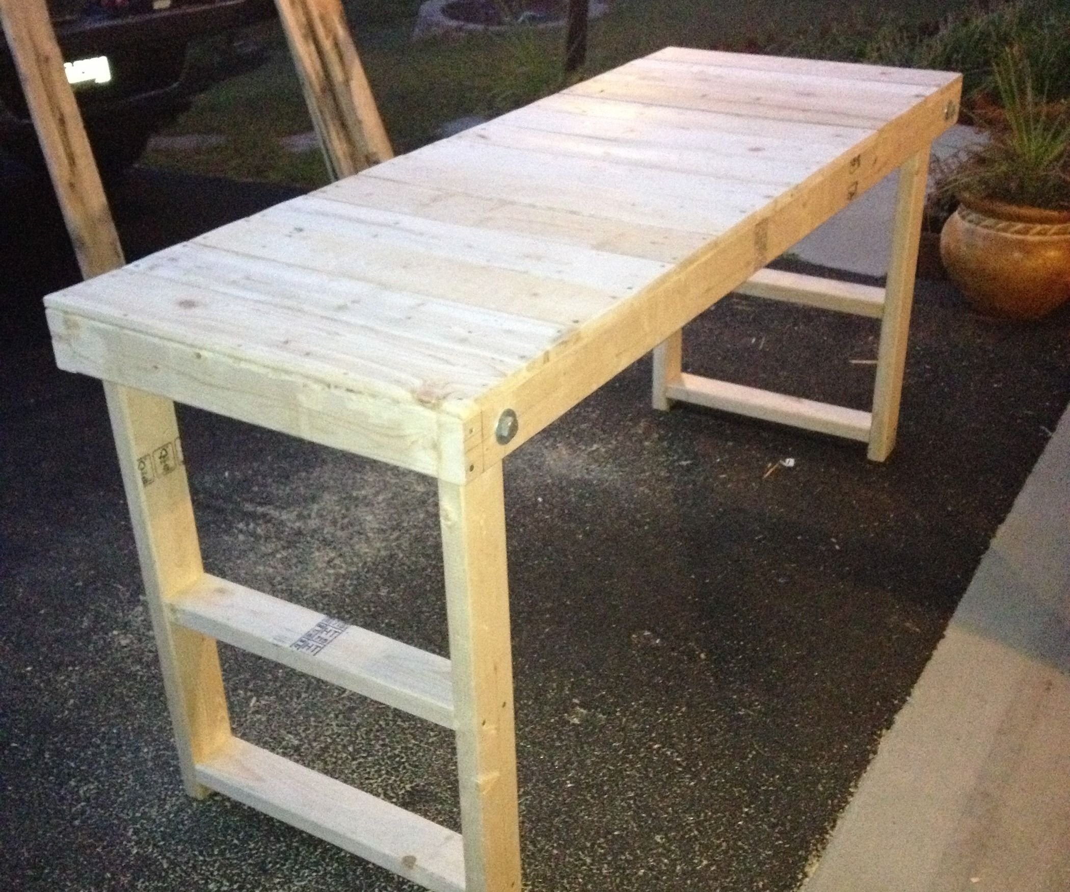 Steel Frame Workbench | Wooden Workbenches | Work Bench Legs