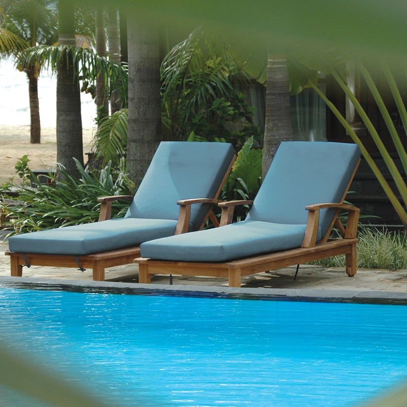 Sunbrella Chaise Cushions | Sunbrella Outdoor Chaise Cushions | Outdoor Chaise Lounge Chair Cushions