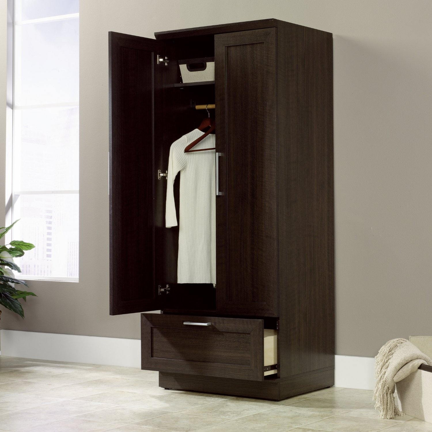 Storage: Free Standing Closet Wardrobe For Inspiring ...