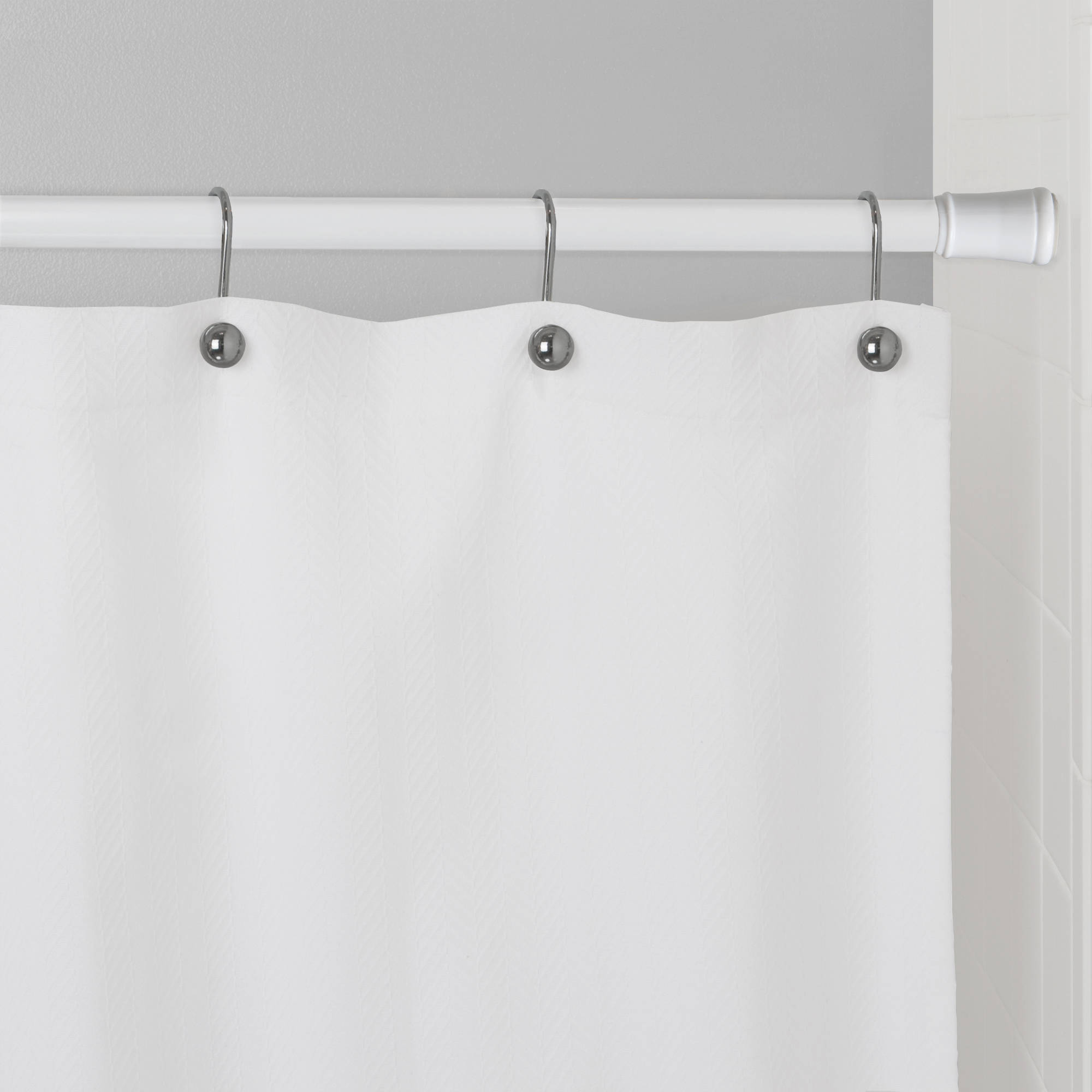Exciting Bathroom Decor Ideas with Shower Curtain Tension Rod: Tension Curved Shower Curtain Rod | Permanent Shower Curtain Rod | Shower Curtain Tension Rod