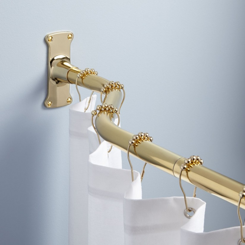 Tension Rod Shower | Fixed Shower Rods | Shower Curtain Tension Rod