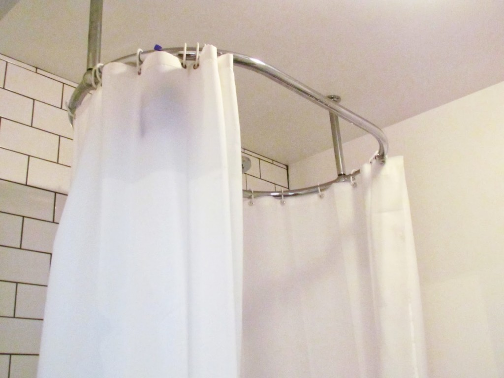 Exciting Bathroom Decor Ideas with Shower Curtain Tension Rod: Tension Shower Rods | Shower Curtain Tension Rod | Expandable Shower Rods