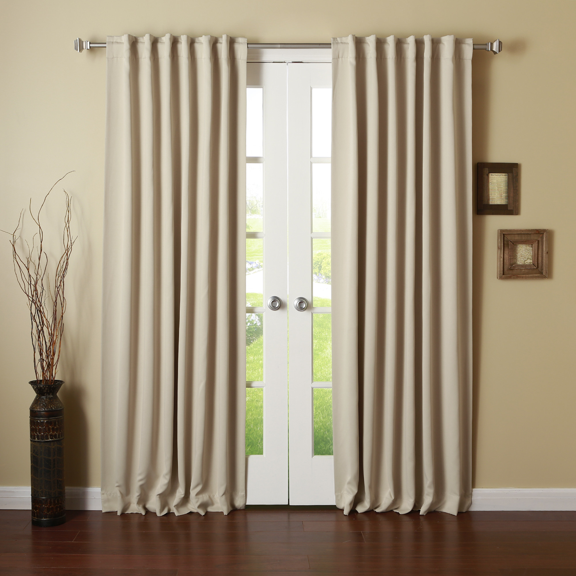 Cheap Blackout Curtains for Inspiring Home Decorating Ideas: Thermal Black Out Curtains | Light Canceling Curtains | Cheap Blackout Curtains