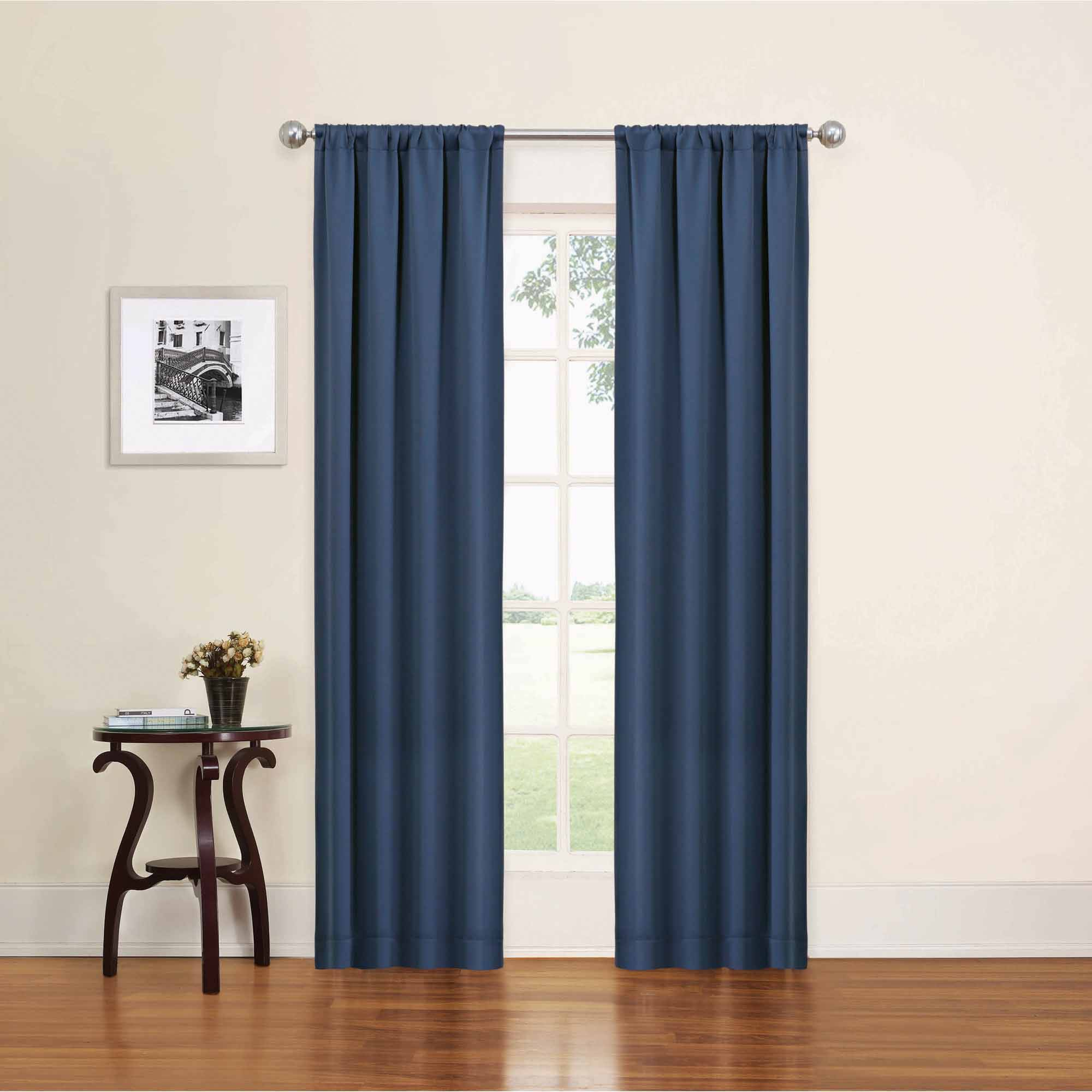 Thick Blackout Curtains | Cheap Blackout Curtains | Dark Brown Blackout Curtains